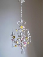 made in italy vinge chandelier roses