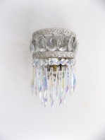 french sconces glass drops