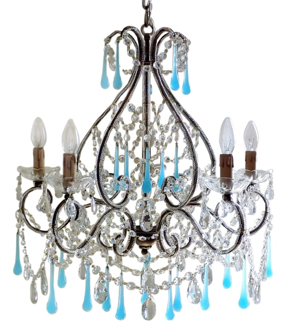 empire color sapphire french crystals chandelier semi chandeliers blue collections crystal with gallery lighting large dressed flush