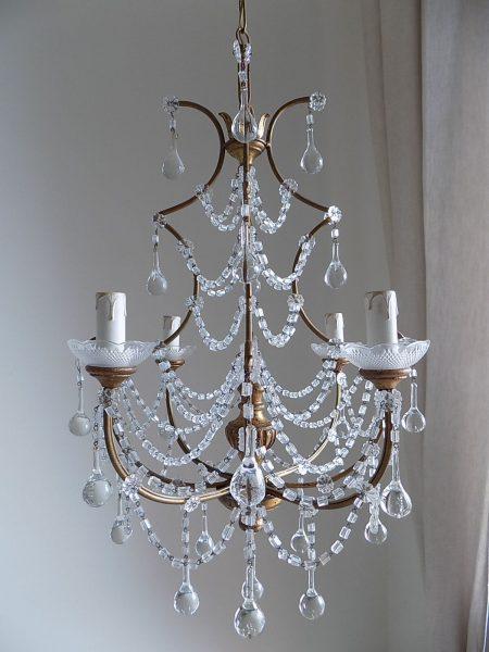 Italian crystal chandelier