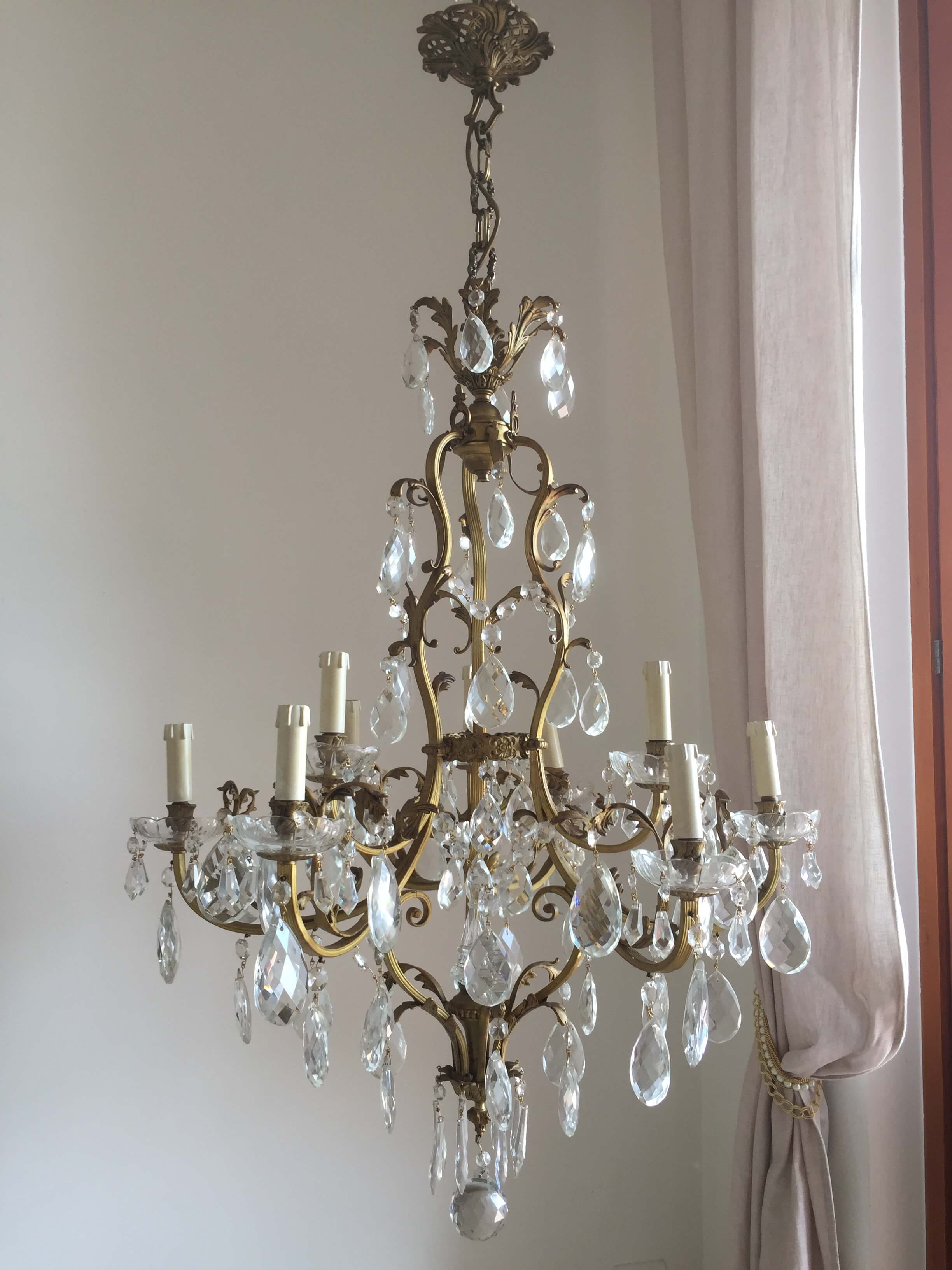 Le rêve de Monaco bronze chandelier