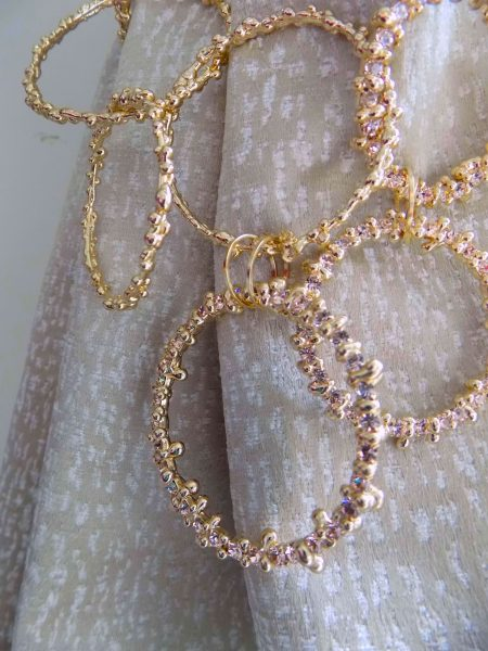 golden rings tiebacks