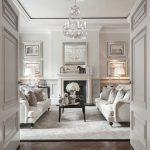 Silver birdcage Swarovski chandelier