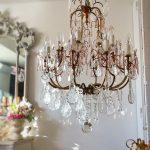 15 lights crytal chandelier