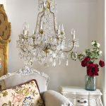Italian antique beaded chandelier